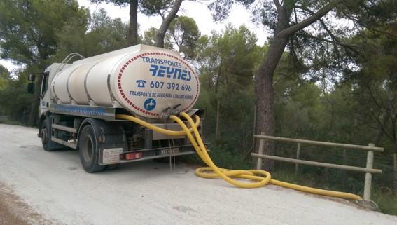 Transporte de Agua a Domicilio